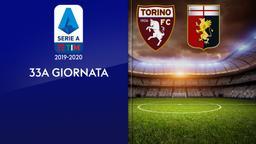 Torino - Genoa. 33a g.