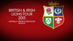 Australia - British & Irish Lions