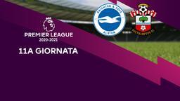 Brighton & Hove Albion - Southampton. 11a g.