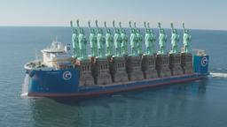 La nave cargo