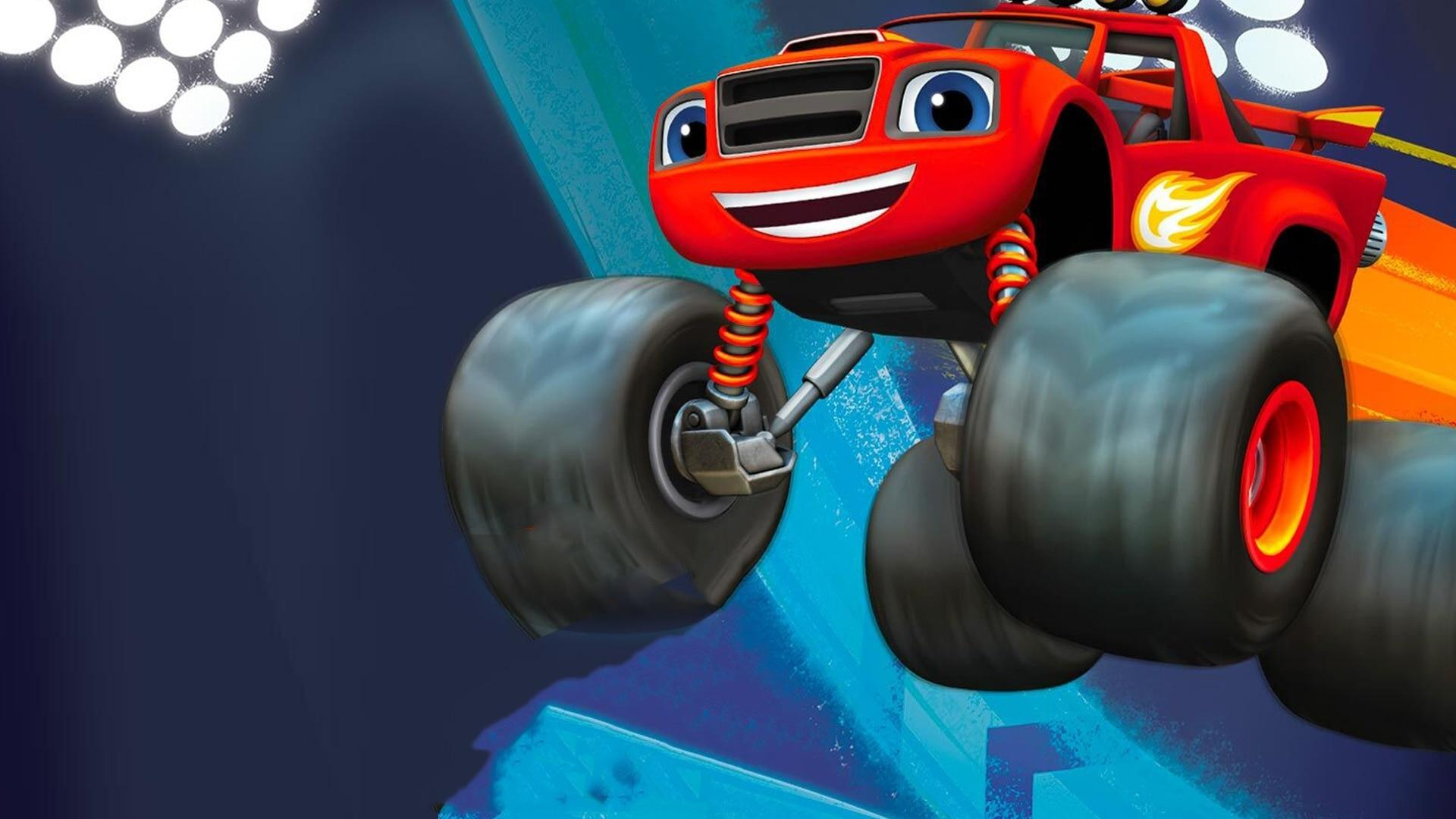 Nick Jr Blaze e le mega macchine -