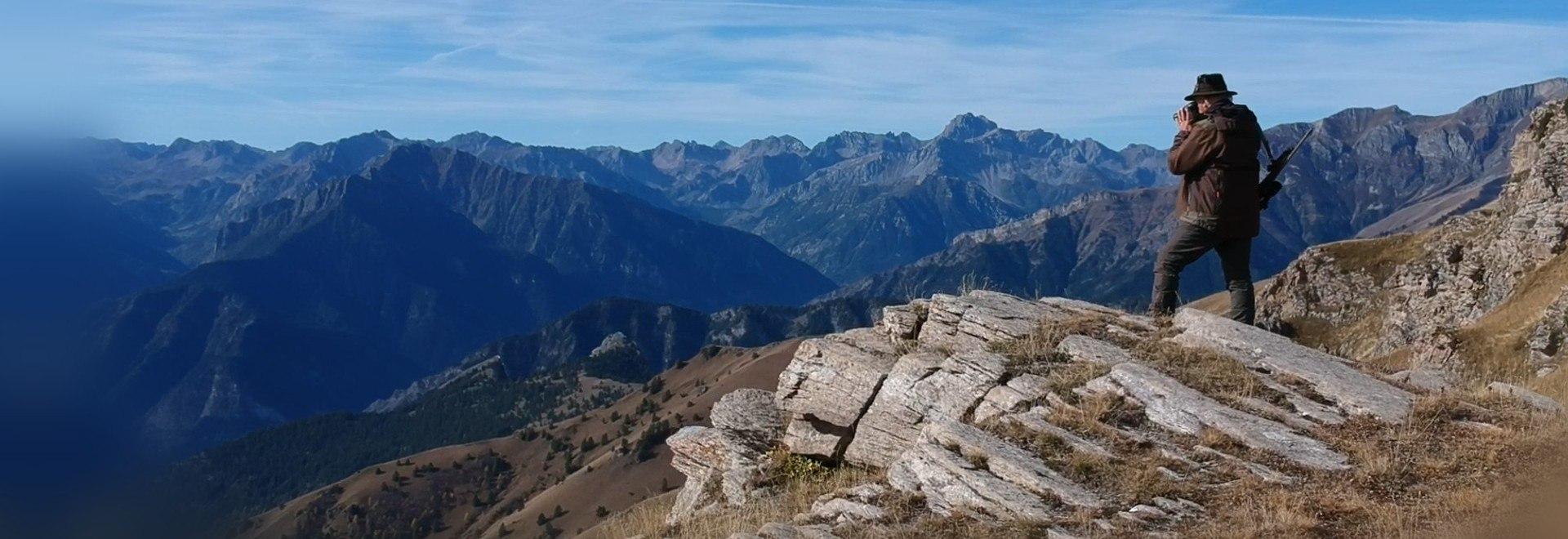 Un anno di caccia in montagna