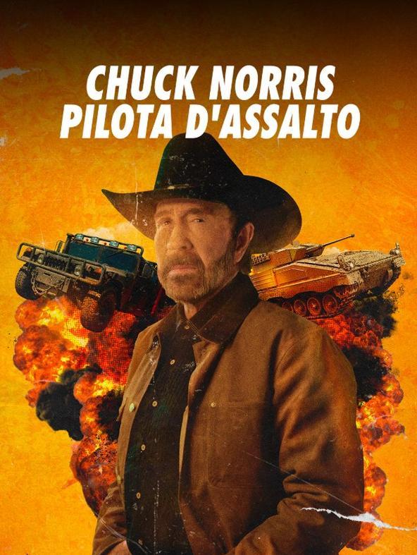 Chuck Norris pilota d'assalto