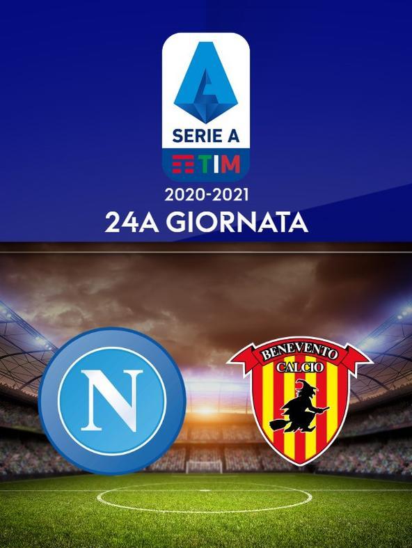 Napoli - Benevento. 24a g.