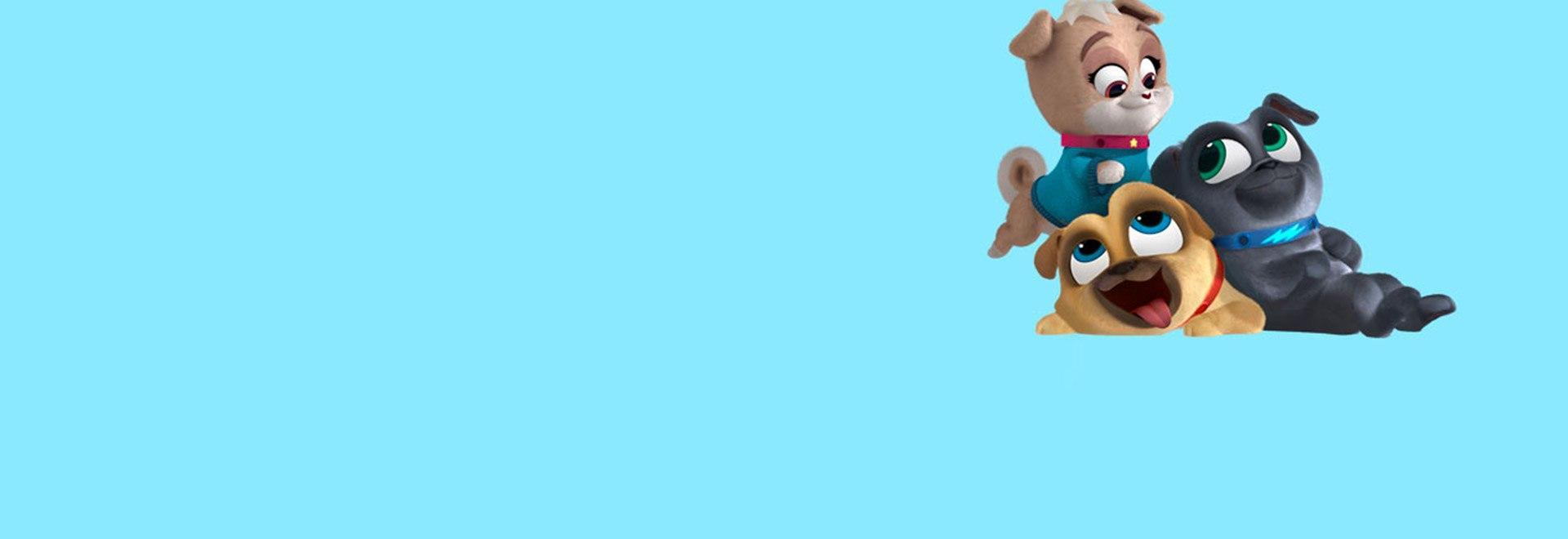 Puppy Dog Pals - Stag. 2 Ep. 43 - I Super 4 Zampe / Una tartaruga smarrita