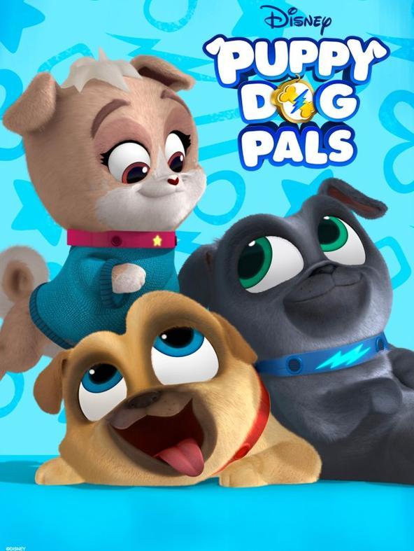 Puppy Dog Pals - Stag. 2 Ep. 33 - Un giorno coi lemuri / Un nuovo cane al parco