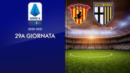 Benevento - Parma. 29a g.