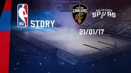 Cleveland - San Antonio 21/01/17