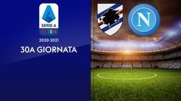 Sampdoria - Napoli. 30a g.