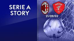 Milan - Perugia 21/09/02. 3a g.
