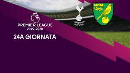 Tottenham - Norwich City. 24a g.