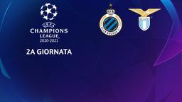 Club Brugge - Lazio. 2a g.