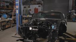 Ford Mustang, la macchina Enigma, la frusta