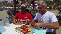Bruschetta / Parmigiana di zucchine / Arzilla