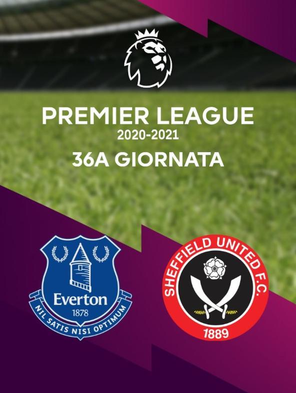 Everton - Sheffield United. 36a g.