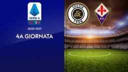 Spezia - Fiorentina. 4a g.