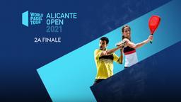 Alicante Open: 2a Finale