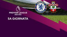 Chelsea - Southampton. 5a g.