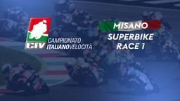 Superbike Misano. Race 1