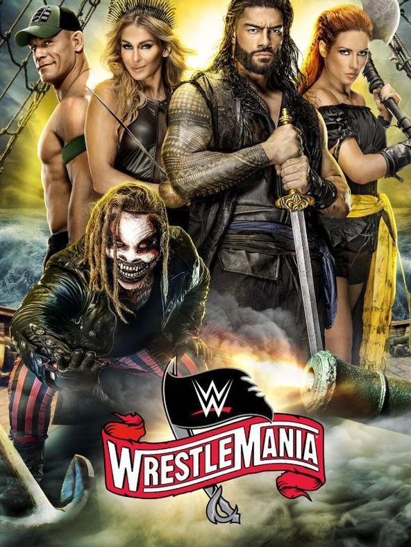 WWE - WrestleMania 36 1a parte