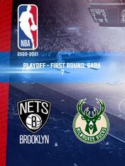 Brooklyn - Milwaukee. Playoff - First Round. Gara 7
