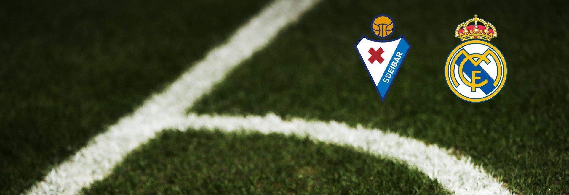 Eibar - Real Madrid. 14a g.