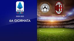 Udinese - Milan. 6a g.