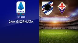 Sampdoria - Fiorentina. 24a g.