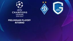 Dinamo Kiev - Gent. Preliminari Playoff Ritorno