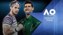Djokovic - Thiem. Finale M