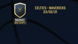 Celtics - Mavericks 23/02/21