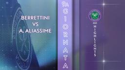 Berrettini - A.Aliassime