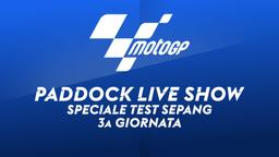 Speciale Test Sepang