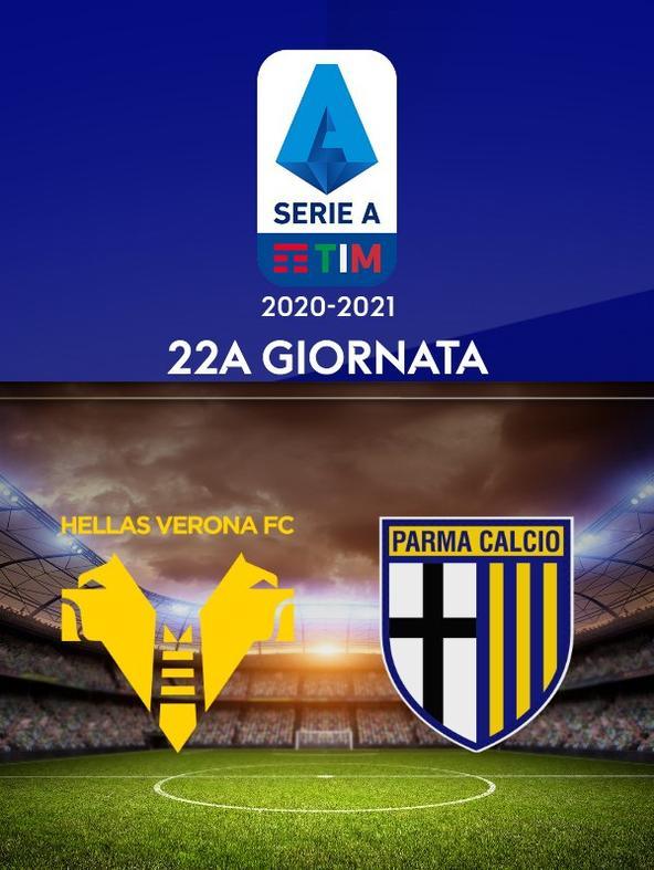 Verona - Parma. 22a g.