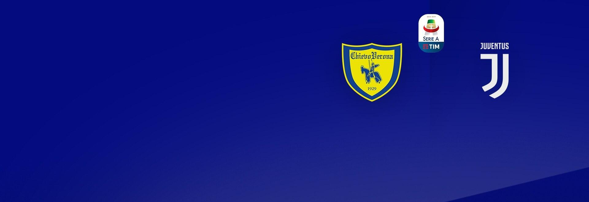 Chievo - Juventus. Ant. 1a g.