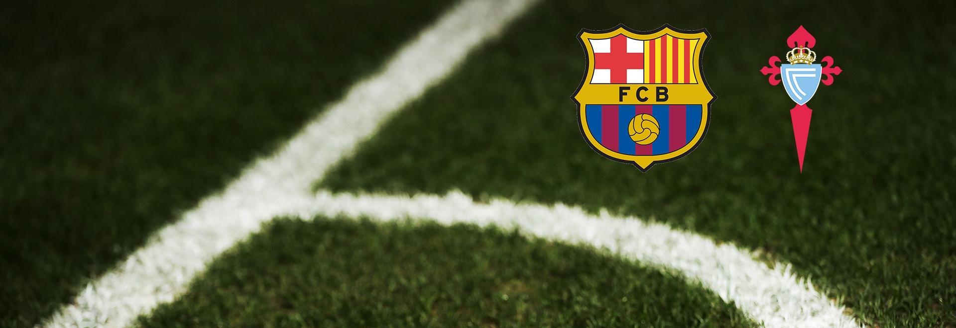 Barcellona - Celta Vigo. 13a g.
