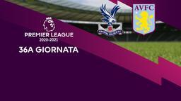 Crystal Palace - Aston Villa. 36a g.