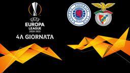 Rangers - Benfica. 4a g.