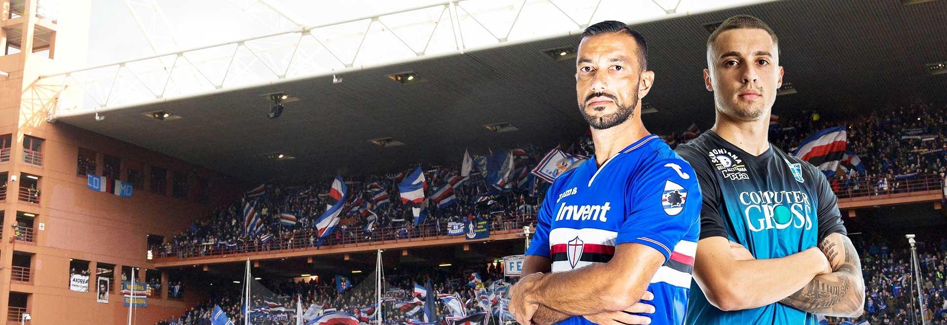 Sampdoria - Empoli. 36a g.