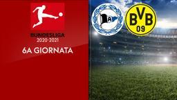 Arminia Bielefeld - Borussia Dortmund. 6a g.
