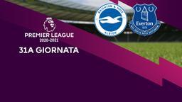 Brighton & Hove Albion - Everton. 31a g