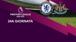 Chelsea - Newcastle. 24a g.