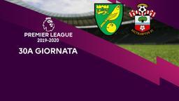 Norwich City - Southampton. 30a g.