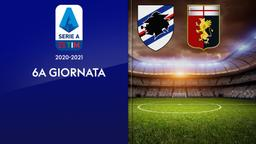 Sampdoria - Genoa. 6a g.