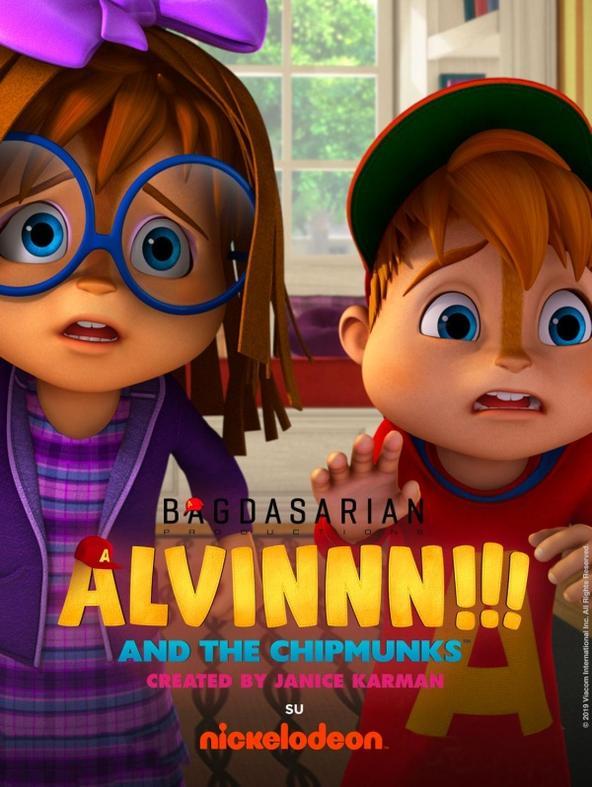 Alvinnn!!! And the Chipmunks - 1^TV