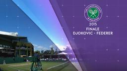 Djokovic - Federer 12/07/15. Finale maschile