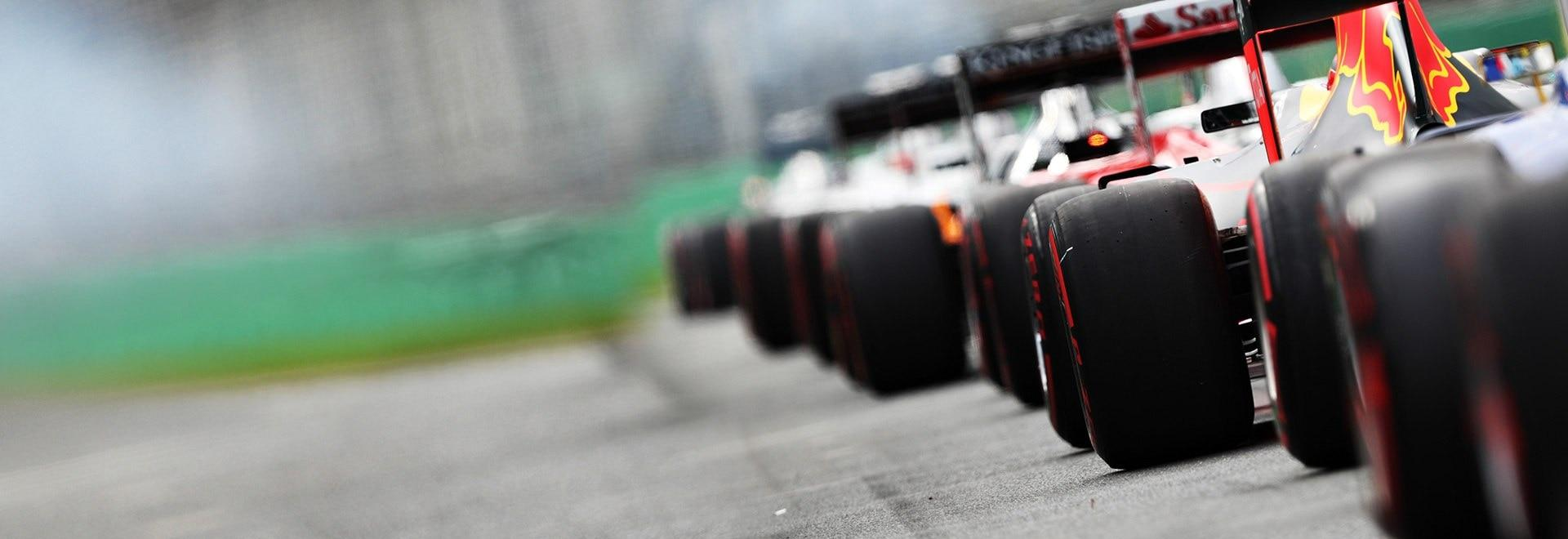 Race Anatomy F1 2020