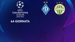 Dinamo Kiev - Ferencvaros. 6a g.