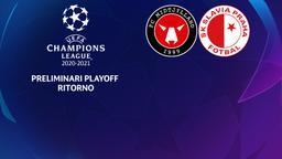 Midtjylland - Slavia P. Preliminari Playoff Ritorno