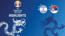 Argentina - Serbia. 1° quarto